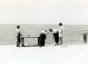 The now non-existent Fish Cleaning Table at the NW corner of the old 7-Mile Bridge