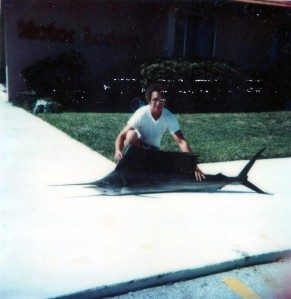 I kept Sailfish in the Restaurant's Walk-in Freezer Until it could be delivered to the Taxidermist in Miami