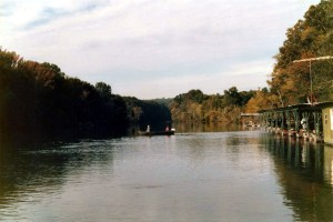 The Little Red River, Heber City, AR,  Sep or Oct 1985