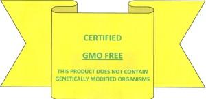 GMO FREE LABEL 001