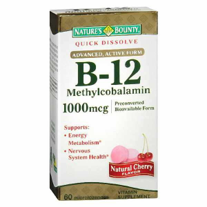 VITAMIN B-12 METHYLCOBALAMIN 1000mcg