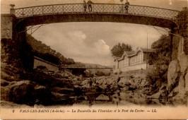J1 WW1 CARD 12A VALS-LES-BAINES FRANCE FEB 14 1919